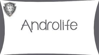 Androlife - Premio WEB DE PLATA