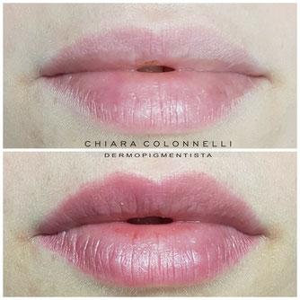 trucco semipermanente permanente labbra roma