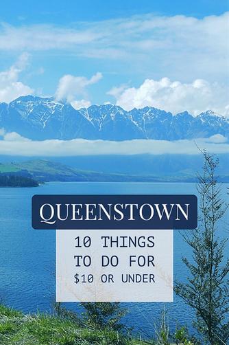 Cheap free activities Queenstown