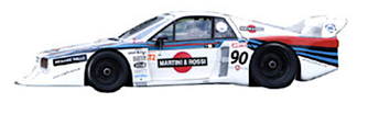lancia beta montecarlo turbo livrea martini racing grafica completa pubblimais