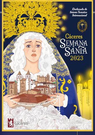 Cartel de la Semana Santa de Cáceres 2016