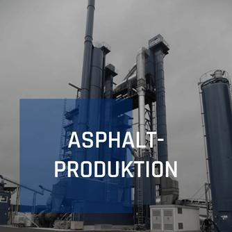 Asphaltproduktion von Richard Schulz Tiefbau