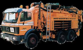 Kanalreiniger SUPER 2000 mit Wasseraufbereitung, Mayer GmbH