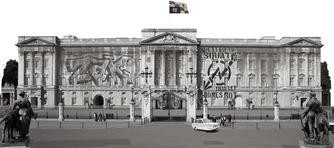 Learn English with Zak Washington. Buckingham palace. Palace logo. ZAK WASHINGTON'S GUIDE TO ENGLISH, a full course for studying the English language.