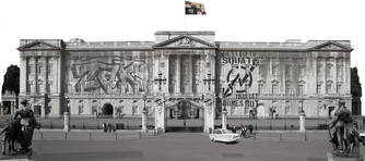 Small photo of Buckingham Palace, England above the grammar and subject index