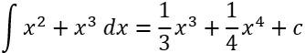 Beispiel für die Berechnung der Stammfunktion einer Polynomfunktion