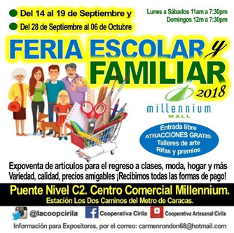 Feria Escolar y Familiar - Millennium Mall