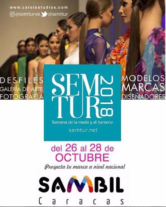 Semana de la Moda y el Turismo - SEMTUR