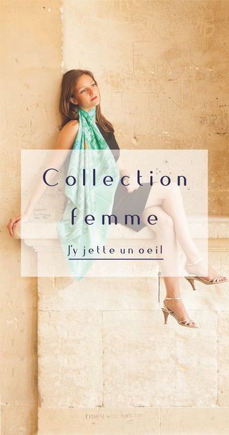 fanfaron foulard en soie, carré en soie, twill de soie, foulard made in france, collection femme