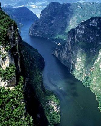 Populært turistmål i Chiapas (Chiapa de Corzo)