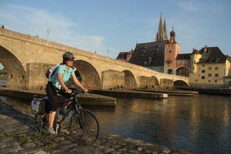 Steinerne Brücke in Regensburg