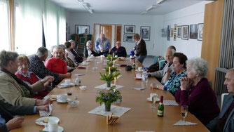 Treffen mit pflegebedürftigen Zühlsdorfern