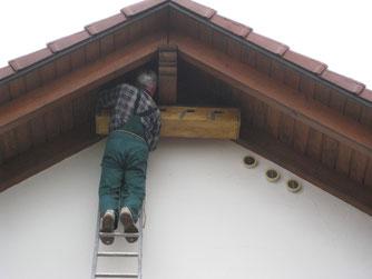 große Nisthilfe für Mauersegler  Foto: NABU Römerstein