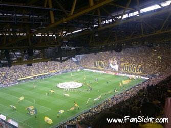 Kommende Saison wieder an der Spitze der Tabelle für verkaufte Dauerkarten: Borussia Dortmund.