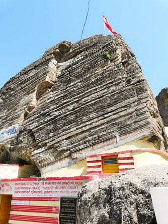Höhle Vyasadevas über 5000 Jahre alt in Badrinatha/Himalayas