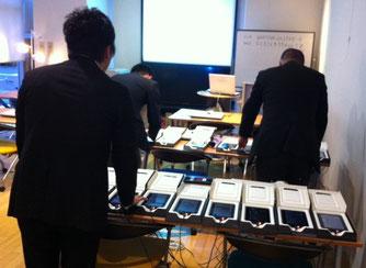 ★写真はキンドルの充電&整備。昨日三鷹産業プラザ1階パソコン教室。