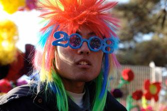 Frühlingsfest 2008, Peking. Ein Verkäufer.