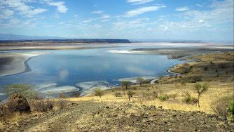 Lago Magadi, Kenya