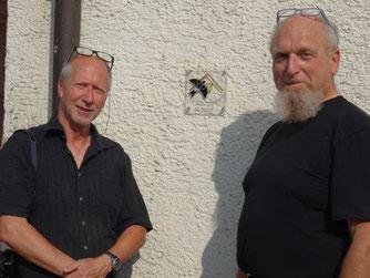 Vorsitzender Herbert Fuchs und Ivo Lavetti (Foto: Jürgen Müller)