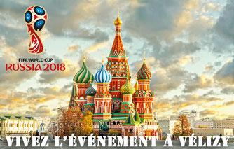 Coupe du Monde 2018 à Vélizy.