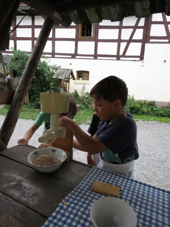 Hier wird Brot gebacken (Foto: NABU/M. Herrmann)