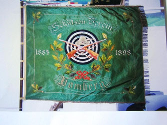 Vereinsfahne aus 1884