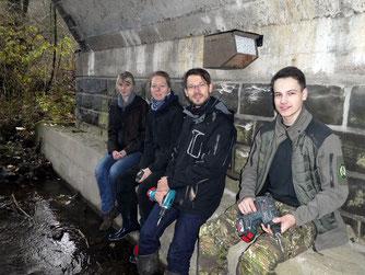 Foto: Wasseramsel-Niskasten-Projekt, NABU Olpe