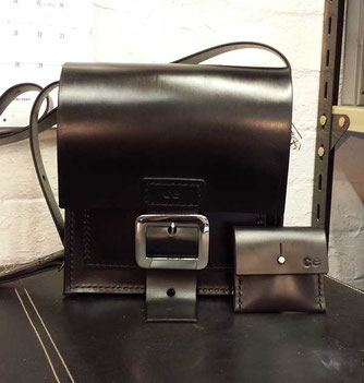 new leather bag stock