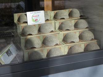 Doppelnester für Mehlschwalben in der NABU-Geschäftsstelle