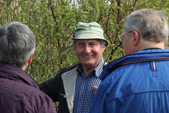 Willi Martens kennt jeden Strauch - aufgewachsen im Loyermoor