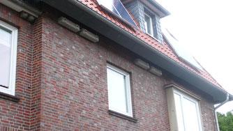 Mauerseglerkästen unterm Dach - der Sommervogel ist ein beliebter Untermieter (Foto: Utescher)