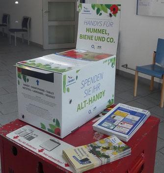 Handy Sammelbox im Amt Bad Bramstedt-Land
