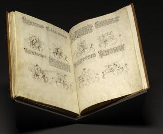 "Das italienische Fechtbuch ""Fior di Battaglia"" des Fechtmeisters Fiore de'i Liberi"