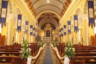 Kirchendeko zur Hochzeit