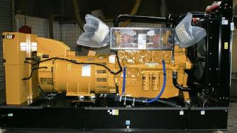 Groupe électrogène terrestre CAT C18 Caterpillar - Les occasions Lamy Power