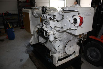 Groupe électrogène marin CAT 3304 DI-NA Caterpillar - Les occasions Lamy Power