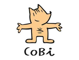 Олимпийская собачка Коби
