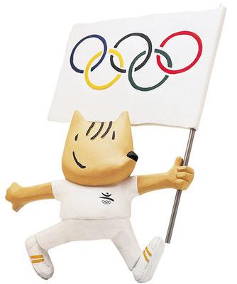Коби - символ Олимпиады-92