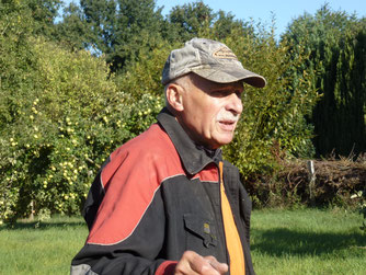 Gerold Wieting, Projektbetreuer Streuobstwiese
