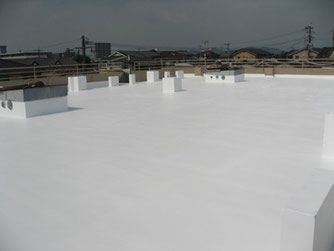 コロニアル屋根遮熱塗装 熊本T様家。関西ペイント クール水性フッ素
