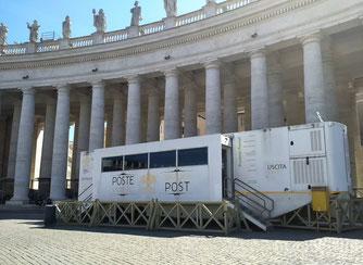 Почта Ватикана на площади Бернини