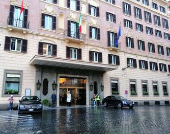 Отель Эден в Риме, фото
