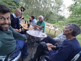 NABU-Treffen im Café Bric à Brac, Foto: T.Kirschey