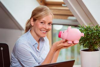 Bis zu 20% der Lohnkosten (inkl. MwSt.) können Sie bei Ihrer Einkommensteuererklärung absetzen