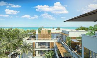 nouvelle résidence RES ile Maurice en acquisition front de mer à TAMARIN