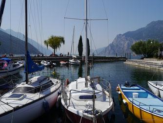 Hafenbecken von Torbole