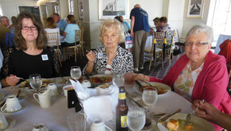 Diners Enjoyed a Superb Lunch at Latitudes 41 Mystic Harbor