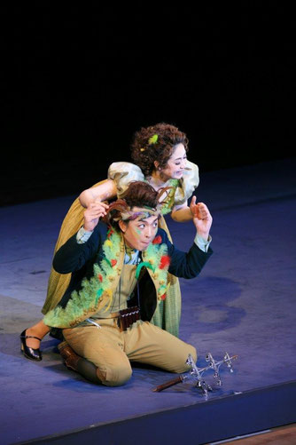2008年聖徳オペラ《魔笛》の様子