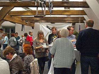 Während der Pause gab es Kulinarisches aus Cornwall. - Foto: Kathy Büscher