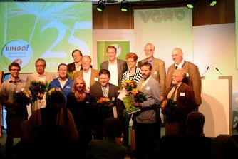 Alle Preisträger des Umweltpreises in Hannover. - Foto: Bingo-Umweltstiftung